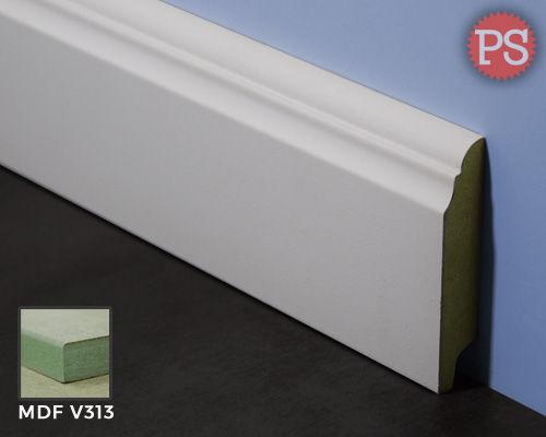 Plintenstunter - toscaanse plint mdf-v313