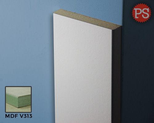 deurlijst recht mdf-v313