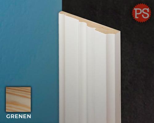 sierlijst bjork grenen-gelakt-ral9010